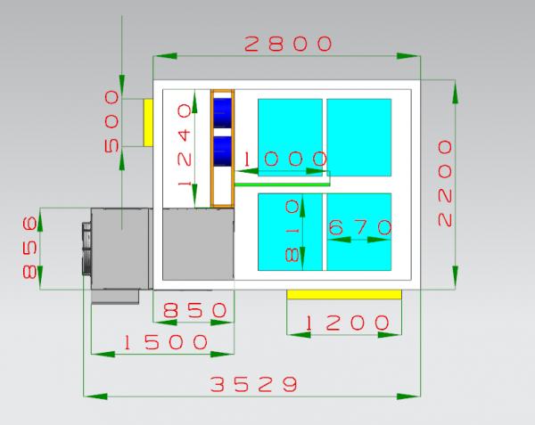 200 Kgs Capacity Drying Machine Solution (0)