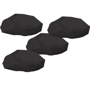charcoal briquettes icon