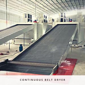 Continuous Conveyor Belt Dryer