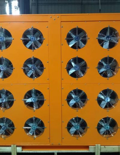 Dryer and Fans for the Machines