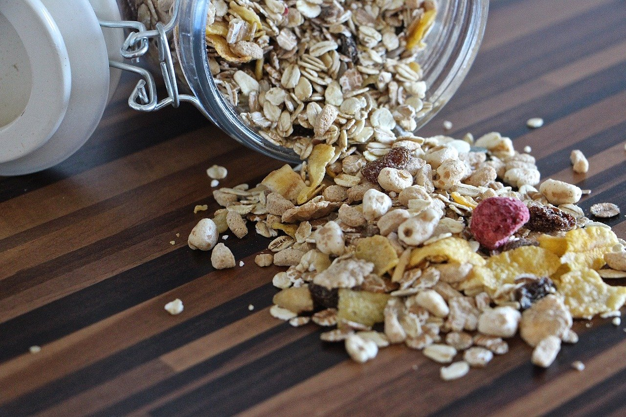cereal drying